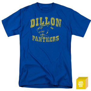 프라이데이나이트 딜론 팬더스 블루 Friday Night Lights Dillon Panthers Logo Vintage Style NBC TV Show T-Shirt Tee  [반팔티셔츠]